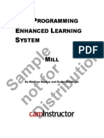 NP-Sample-88-9 CNC Programming Enhanced Learning System - Mill