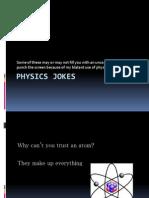 Physics Jokes (Physics Project 2)