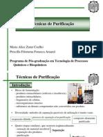 Química - Técnicas de Purificação