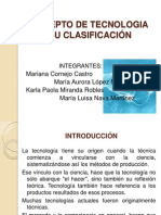 7B_1_Concepto de Tecnologia y Su Clasificacion