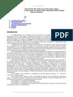 Propuesta Mejoramiento Del Sistema Red Aguas Negras Del Sector Vaquera Valle Verde