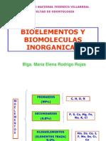 1. Bioelementos y Biomoleculas Inorganicas