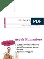 Aspek Humaniora