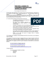 ApplyLicenceManufacture,AssembleControlledDrugs-22 Oct 08
