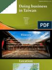 Doing Business in Taiwan (Final)