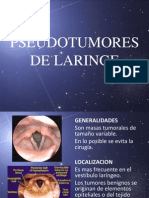 Pseudotumores de Laringe