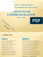 Presentacion PPT Comercializacion Min Cc Cu