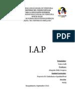 Informe IAP