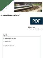 Fundamentals of SAP HANA the begining
