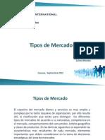 Tipos de mercado presentación