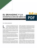 El branding y la investigación de mercados