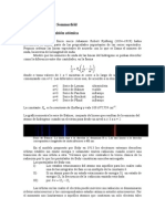 Capitulo 2 La teoría de Bohr y Sommerfeld