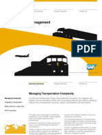 Solution in Detail Supply Chain Management Transportation Management