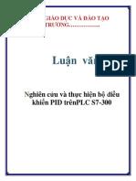 Nghiên cứu và thực hiện bộ điều khiển PID trênPLC S7-300
