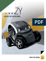 Brochure RenaultTwizy
