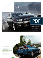 Brochure HondaInsight