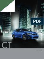 Brochure LexusCT200h