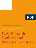 Education and National Security