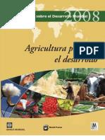 Informe Sobre El Desarrollo Mundial 2008