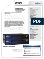 Gateway Datasheet