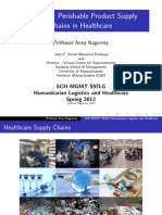 Nagurney Humanitarian Logistics Lecture 7