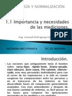 1-1 Necesidad e Importancia de Las Mediciones