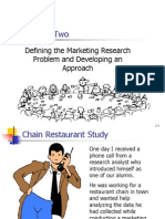 Defining the Marketing Research Problem and Developing an Approach.finaL
