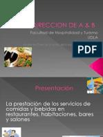 Direccion de a & b