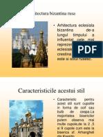 Arhitectura Bizantina in Rusia