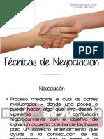 Tecnicas de Negociacion Version Blog