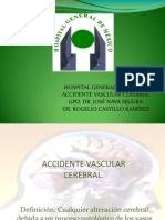 Accidente Vascular Cerebral