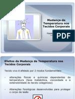 AULA Mudanca de Temperatura Nos Tecidos Corporais