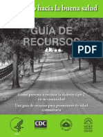 Road to Health Resource Guide Spanish