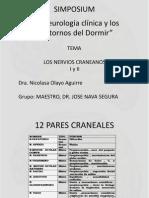 Nervios Craneanos i y II