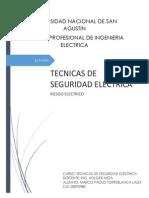Informe - Contactos Directos e Indirectos Con La Electricidad