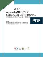 Manual de Selección por Competencias - UCV 2009r0