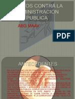 Delitos Contra La Administracion Publica x