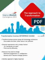 Insurance Business Transformation through Technology | A MajescoMastek Approach