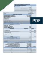 Costos en Operacion de Maquinarias