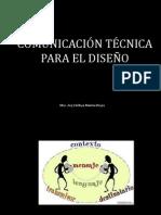 COMUNICACIÓN TÉCNICA PARA EL DISEÑO