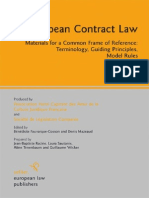 European Contract Laweu contract law