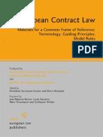 European Contract Laweu contract law