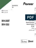 Mvh-355bt Mvh-155ui Owner Manual