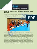 Cours De Premiers Secours En Geneve | ESSR