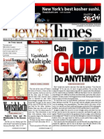 Jewish Times - Volume XI, No. 5...Dec. 9, 2011