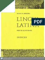 LLPSI Pars II Indicesm