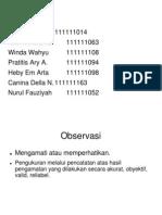 Pd 4 Tugas (Observasi)