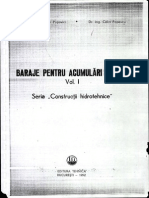 Baraje Pentru Acumulari de Apa Vol I - Adrian Popovici_ Calin Popescu