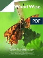 WoodWise - Woodland Management for Sun-Loving Butterflies - Autumn 2013