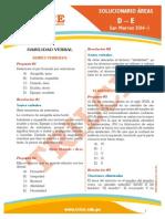Solucionario San Marcos 2014-I Ciencias